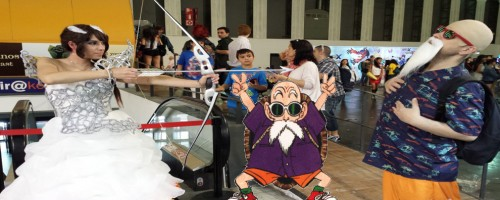 Salon del comic-Barcelona-master roshi-head
