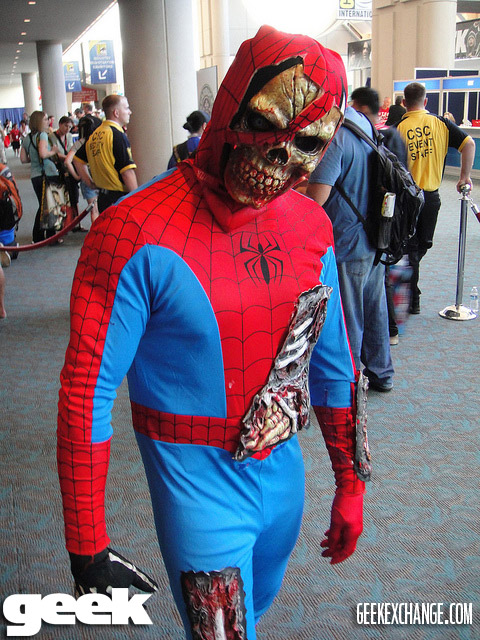 Displaying (18) Gallery Images For Zombie Spiderman Costume...: imgarcade.com/1/zombie-spiderman-costume