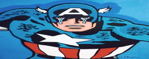 captain america - head