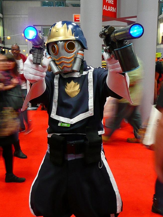 Ooga ooga chaka ooga ooga ooga guardians of the galaxy cosplay