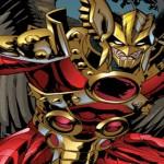 Quel animal se cache dans le costume d'Hawkman?
