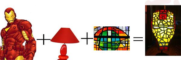 iron man s illumine. Black Bedroom Furniture Sets. Home Design Ideas